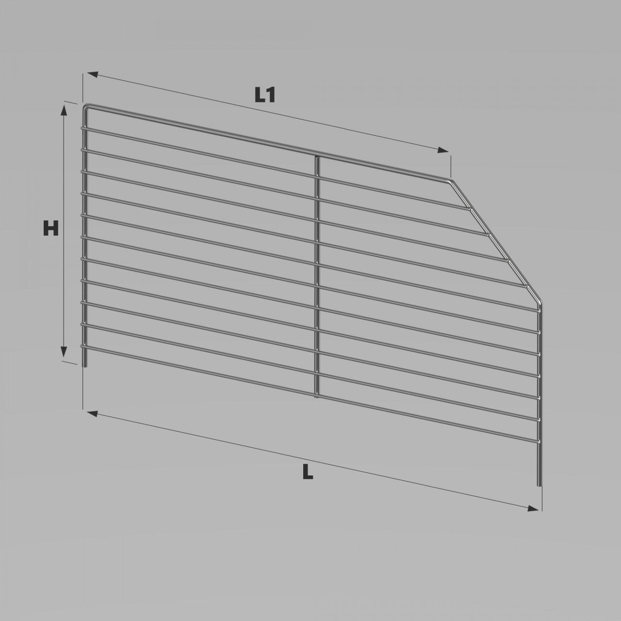 abbastanza Divisori trapezoidali c&c   SAEL accessori in filo metallico per  RJ87